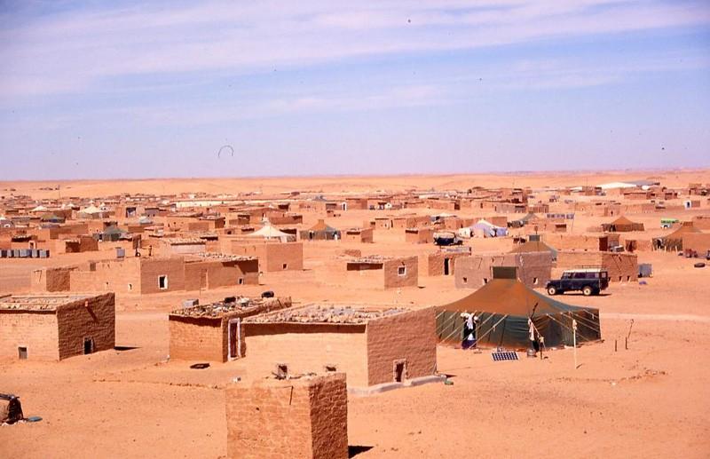Camp-Sahraoui-à-Tindouf-en-Algerie
